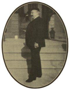 Louis Eppinger, um 1908.