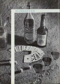 Manhattan. Marcel Pace, Nos meilleures boissons, 1954. Seite 99.