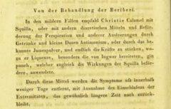 Moritz Hasper: Ueber die Natur und Behandlung der Krankheiten der Tropenländer. Erster Theil. 1831. Seite 518.