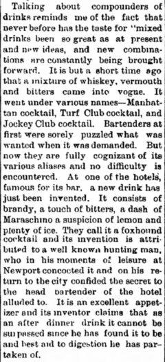 New Olean Democrat, 5. September 1882, Seite 1.