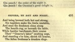 Oxford by Day and Night. Monthly Magazine, 1836, Seite 490-491.