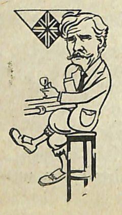 Pedro Chicote - Le ley mojada, 1930. Seite 180. Mac-Donald-Cocktail.