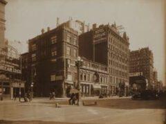 Rector's, um 1909.