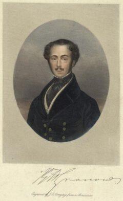 Rees Howell Gronow um 1840.