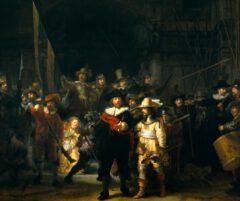 Rembrandt van Rijn - Die Nachtwache (1642).