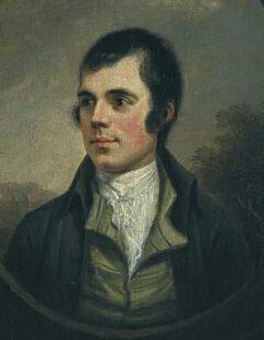 Robert Burns im Jahr 1787.