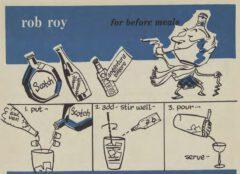 Robert H. Loeb, Jr. Nip Ahoy. 1954. Seite 37. Rob Roy.