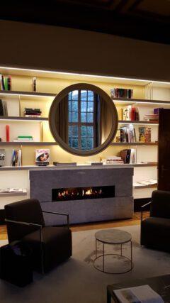 Rutte @ Fraser Suites Hamburg. In der Bibliothek.
