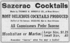 Sazerac Cocktails. Omaha Daily Bee, 30. Dezember 1911, News Section, Seite 5.