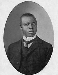 Scott Joplin um 1903.