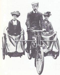 Seitenwagen, Mills & Fulford, 1903.