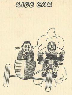 Side Car. Jean Robert Meyer. Bottoms Up. 1934, Seite 9.