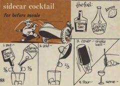 Sidecar Cocktail. Robert H. Loeb, Jr. Nip Ahoy. Seite 88.