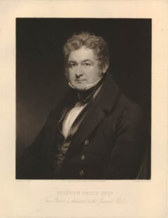 Stephen Price, 1836.
