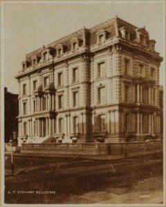 Steward Mansion in den 1870er Jahren.