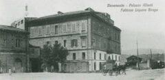 Das Fabrikgebäude von 1861.