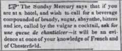 The Daily Picayune, 1. Februar 1843.
