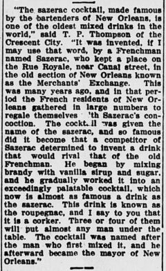 The Evening Times, 12. Januar 1911, Seite 3.