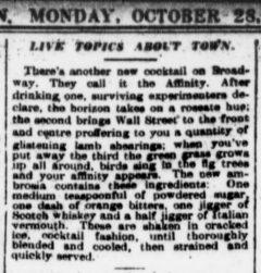 The Sun, 28. Oktober 1907, Seite 4 Live Topics About Town.