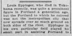The Sunday Oregonian, 21. Juni 1881, section 3. Teil 1.