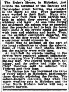 The World, 6. April 1896.