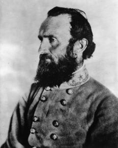 Thomas Jonathan Jackson im Jahr 1863.
