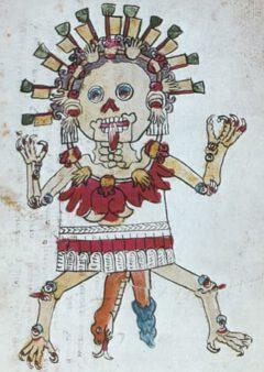 Tzitzimitl, aus dem Codex Magliabechano.