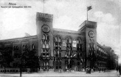 Die Viktoria-Kaserne in Altona.