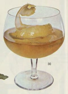 Whisky Highball. Harry Schraemli, Manuel du bar, 1965. Seite 384f.