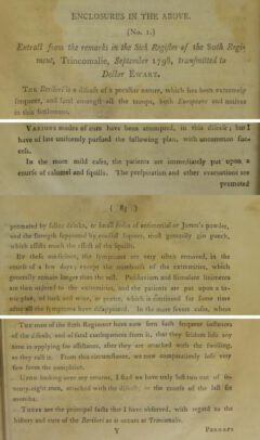 William Hunter: An Essay on the Diseases Incident to Indian Seamen, 1804, Seite 82, 84, 85.
