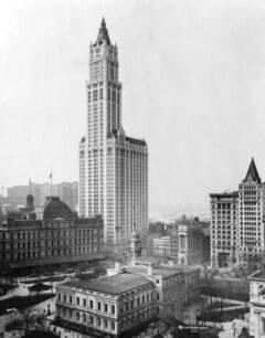 Das Woolworth Building im Jahr 1913.