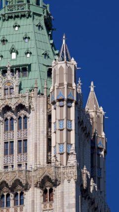 Woolworth Building - Turmdetail.