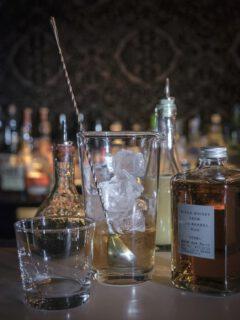 Improved Japanese Cocktail. © Le Lion - Swetlana Holz.