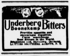 Underberg. 16. Juni 1902, The Sun, Seite 2.