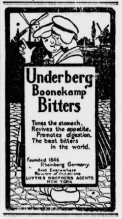 Underberg. 17. Oktober 1902, The Sun, Seite 3.
