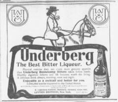 Underberg. 11. April 1905, The Sun, Seite 6.