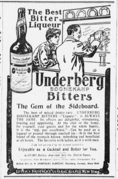 Underberg. 28. November 1905, The Sun, Seite 14.