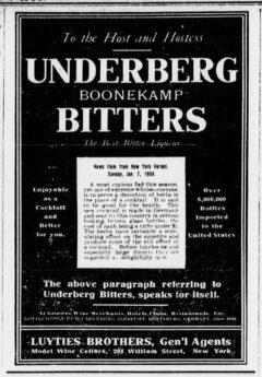 Underberg. 30. Januar 1906, The Sun, Seite 5.