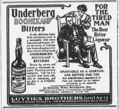 Underberg. 20. März 1906, The Sun, Seite 10.