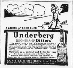 Underberg. 26. Juni 1906, The Sun, Seite 2.