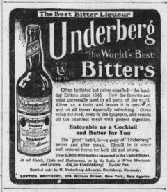 Underberg. 27. September 1907, The Sun, Seite 8.
