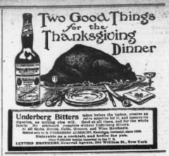 Underberg. 20. November 1907, The Sun, Seite 8.