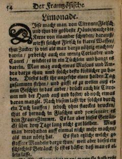 Nicolas de Bonnefons: Der Französische Confitierer. 1665. Seite 54.