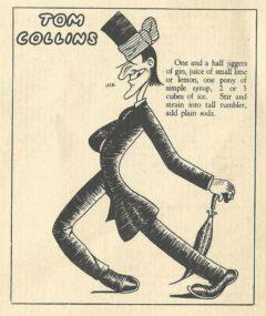 Jean Robert Meyer: Bottoms Up. 1934. Seite 31. Tom Collins.