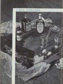 Marcel Pace: Nos meilleures boissons. 1954. Gala Collins.
