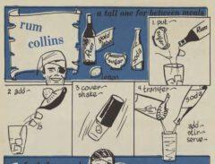 Robert H. Loeb: Nip Ahoy. 1954. Seite 48. Rum Collins.