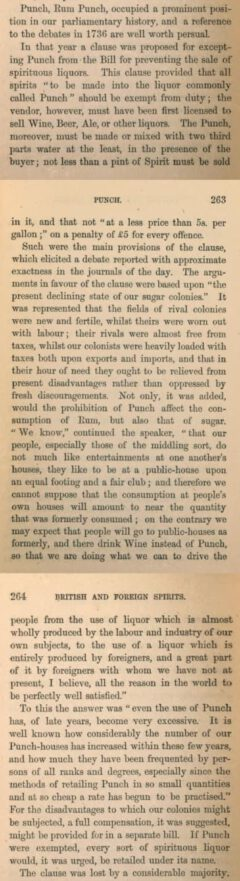 Charles Tovey: British & foreign spirits. 1864, Seite 262-264.