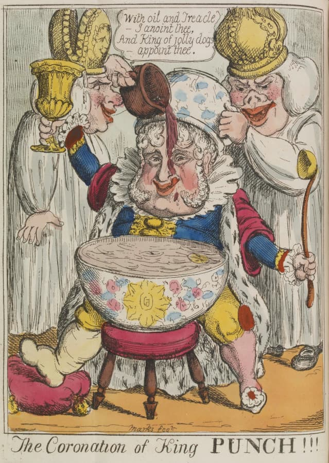 The Coronation of King Punch, 1821.