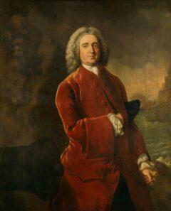 Edward Vernon, um 1753.