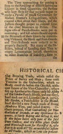 The Gentleman's Magazine. Vol. 6. London, 1736, Seite 550-551.